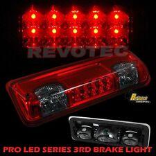 04-08 Ford F150 07-10 Sport Trac LED High Mount 3rd Third Brake Light Red Smoke