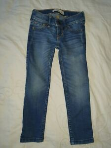 abercrombie Kids Girls Age 3/4yrs Blue Jeans