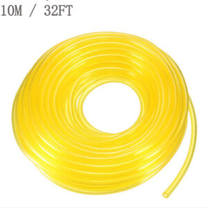 32FT Tygon Petrol Fuel Gas Line Pipe Hose For Trimmer Chainsaw 2x3.5mm 2.5x5mm