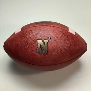 2016 Navy Midshipmen Game Used Big Game USA Football NCAA