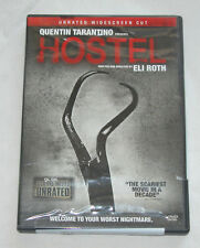 Hostel DVD, 2006, Unrated Edition, Horror, Jay Hernandez, Free Shipping U.S.A.