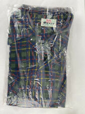 VTG Big Donlin Permanent Press 100% Cotton Flannel Shirt NOS in Bag USA XL Plaid