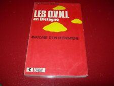 LES O.V.N.I.  EN BRETAGNE  ANATOMIE D'UN PHENOMENE   J. F. BOEDEC  1978