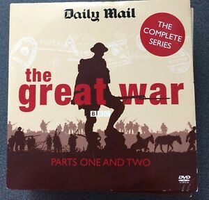 THE GREAT WAR COMPLETE SERIES - 26 EPISODES ON 19 DISCS DAILY MAIL DVD SET