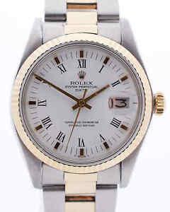 Rolex Date 1500 aus 1978 Vintage 34mm Stahl/Gold