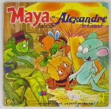 Maya l'Abeille 45 tours Livre Disque 1978 Alexandre le Grand