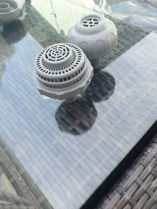 PAIR WATER POOL 1 X OUTLET STRAINER (22 MM) & 1 X inlet strainer ( 22MM)As New