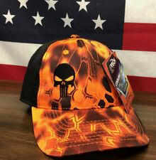 Kryptek Punisher Hat Kryptek® Inferno™/Black Cap Moisture Wicking Low Crown