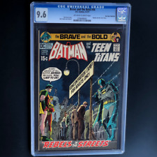 BRAVE AND THE BOLD #94 (DC 1971) 💥 CGC 9.6 ONLY 1 HIGHER! 💥 Batman Teen Titans