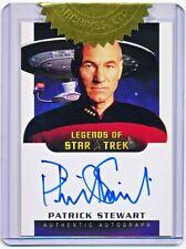 Star Trek 40th Anniversary Patrick Stewart 6 Case Incentive Autograph #LA2 - QTY