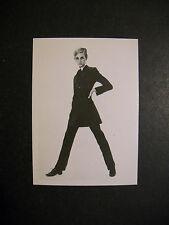 1967 TWIGGY MODEL TEST CARD TOPPS  *RARE*
