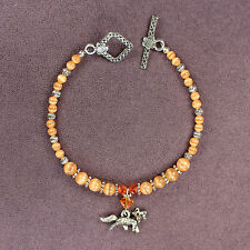 FOX TOTEM BRACELET Charm Talisman Amulet Foxes Symbol Sign Wild Animal Magick