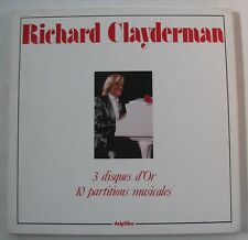RICHARD CLAYDERMAN (COFFRET 3 DISQUES) 3 DISQUES D'OR