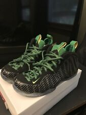 DS Nike Foamposite One Oregon Ducks Sz 9 GALAXY CHROMEPOSITE ALL STAR