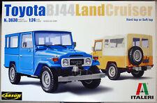 Italeri 3630 1960 - 1984 Toyota Landcruiser BJ 44 1:24