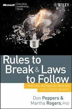 Rules to Break and Laws to Follow: How Your Business Can Beat the Cris-ExLibrary