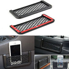 Black Auto Car Vehicle Storage Mesh Resilient String Bag Holder Pocket Organizer
