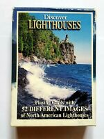 Discover Lighthouses Playing Cards 52 North American Lighthouses Free Shipping