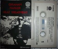 GRAHAM PARKER Heat treatment   RARE SPANISH  CASSETTE     paper label YEAR 1977