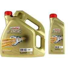 5 Liter Original Castrol Motoröl EDGE 0W-40 A3/B4  Motorenöl Engine Oil