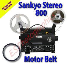 SANKYO 800 Stereo Sound 8mm CINE PROIETTORE Belt (motore principale Cintura)