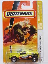 MATCHBOX 2008 QUICK SANDER #75 YELLOW