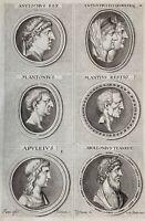 Numismatik Antiochos Seleukiden Marcus Antonius Antike Apuleius Kleopatra 1690