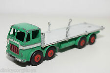 DINKY TOYS 935 LEYLAND OCTOPUS FLAT TRUCK WTIH CHAINS GOOD CONDITION
