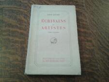 ecrivains et artistes tome 5 - leon daudet (1929)