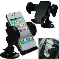 Universal Car Windshield Dashboard Air Vent Holder Mount for Mobile Cell Phone