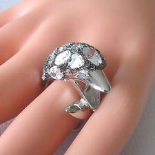 Famous Dolphin Ring 925 Sterling Silver Setting Sparkling CZ Will Fit Size 6 - 8