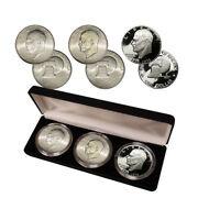Bicentennial Eisenhower Dollar Collection (Philadelphia, Denver and SF Set)