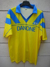 VINTAGE Maillot JUVENTUS TURIN Danone maglia away shirt collector XL