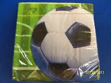 Heads Up Soccer Sports Banquet Party Luncheon Napkins