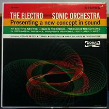 Dick Jacobs - Electro-Sonic Orchestra LP VG+ CRL 757381 Stereo 1958 Coral 1st