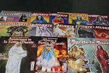 3.-SET 14 MAGAZINES revistas DEVOCION especial SANTA MUERTE altares apariciones