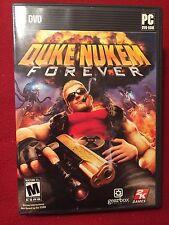 Duke Nukem Forever PC Video Game CD Rated M 2011
