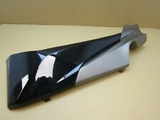 Honda Forza NSS 125 2018 1,088 miles side fairing panel black and silver (5107)
