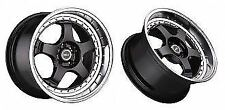 WOLF S1P WHEELS 18x8 5x100 5x114.3 +42 (PAIR) fitments to work on most cars!