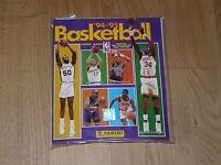NBA 1994 1995 BASKET SERIE COMPLETA FIGURINE CON ALBUM PANINI STICKERS INGLESE