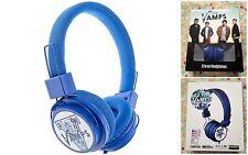THE VAMPS : Casque headphones écouteurs Bleu - Neuf