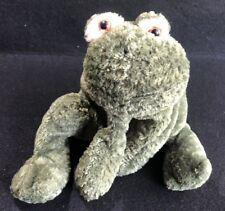 "Flip Flops Green Frog 13"" Floppy Plush Mary Meyer Stuffed Toy"