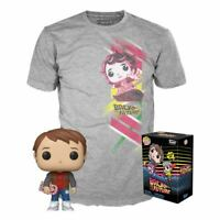 Funko Back to the Future POP! & Tee Box Marty Exclusive Pop! Vinyl SIZE XL