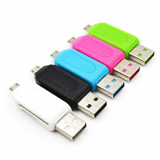 MEMORY CARD READER MICRO USB OTG TO USB 2.0 ADAPTER;USB 2.0 SD/MICRO SD CARD UK