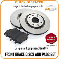 19109 FRONT BRAKE DISCS AND PADS FOR VOLKSWAGEN GOLF PLUS 1.4 FSI 6/2005-4/2006