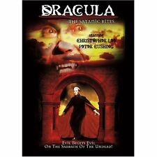 THE SATANIC RITES OF DRACULA (1974 Christopher Lee) -  DVD -UK Compatible new