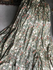 More details for sanderson william morris golden lily curtains professionally made 100x60 inches