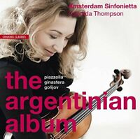 Candida Thompson - The Argentinian Album - music by Piazzolla, [CD]