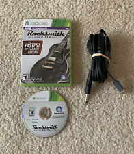 Rocksmith 2014 Edition Microsoft Xbox 360, 2013) With Real Tone Cable