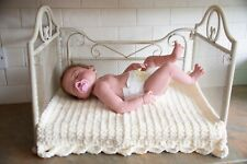 Newborn Photography Prop  Wrought Iron Bed